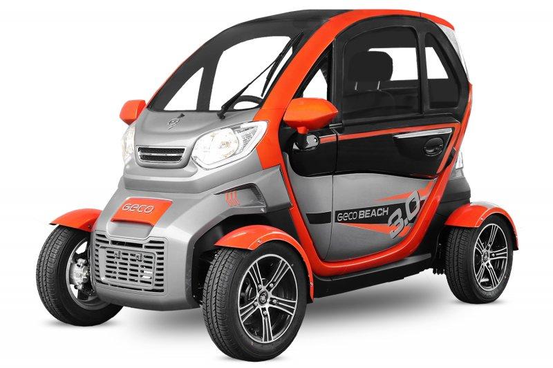 EEC Elektroauto Geco Beach 3000 V6 3kW inkl. Graphen Batterien Straßenzulassung