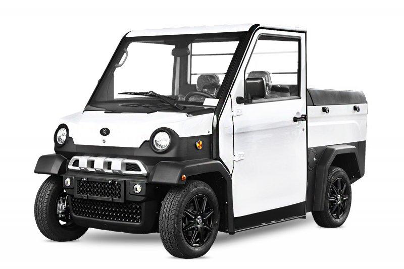 EEC Elektroauto Geco Trans XP Pickup 5,7kW inkl. Batterien Straßenzulassung