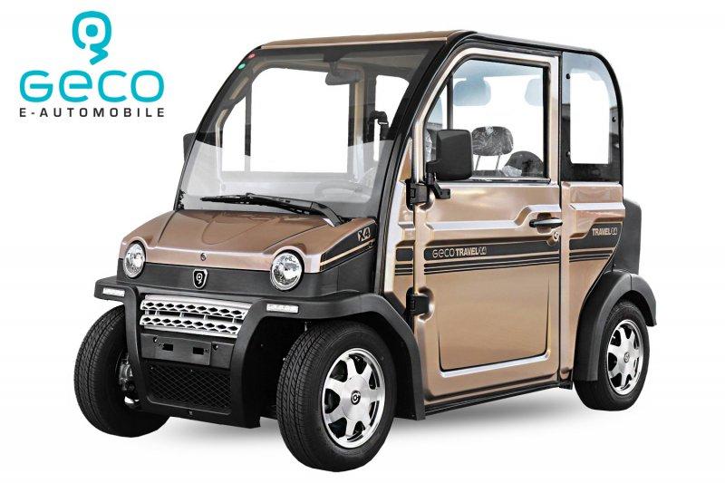 EEC Elektroauto Geco Travel X4 4kW inkl. Batterien Straßenzulassung