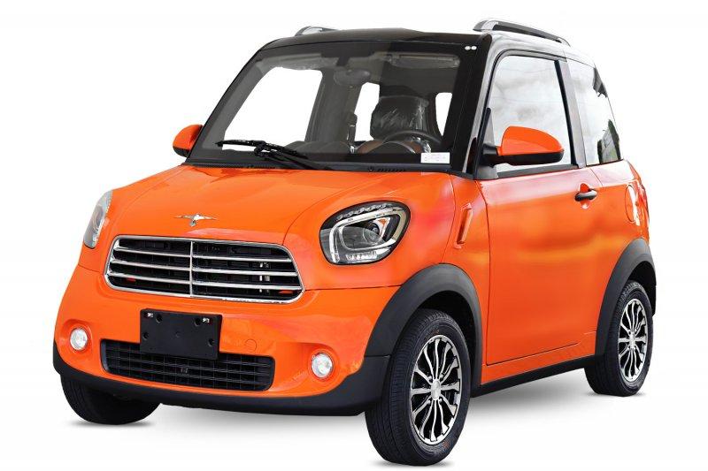 EEC Elektroauto Geco M1 4.5kW inkl. Batterien 2-Personen Straßenzulassung  Klimaanlage