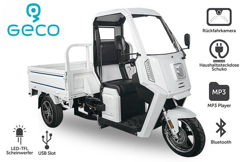 EEC Elektroauto Geco Truck XP 3kW inkl. Batterien Straßenzulassung Pickup Pritsche
